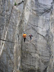 Klettersteig Val D'Isere