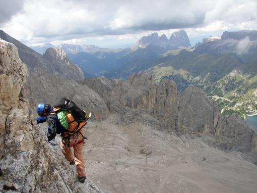 Marmolada - Dolomiten (Italien)
