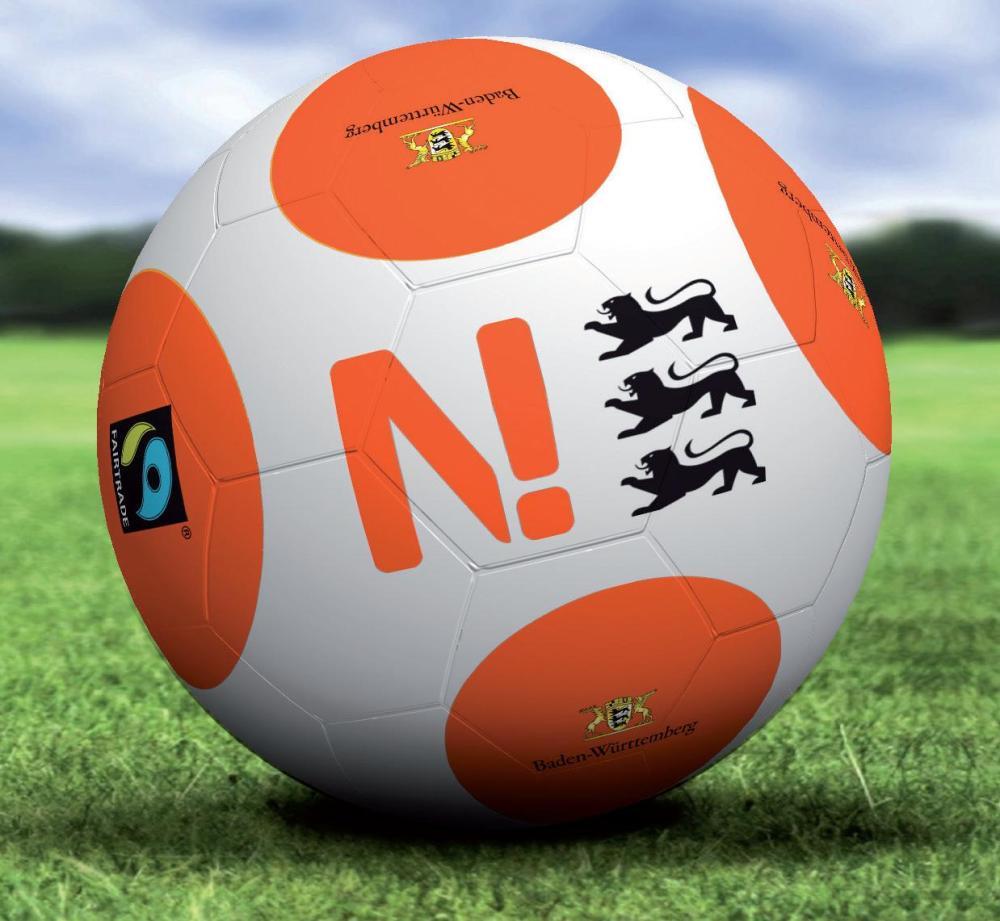 Kicken mit fairen Bällen! nachhaltiger Sport