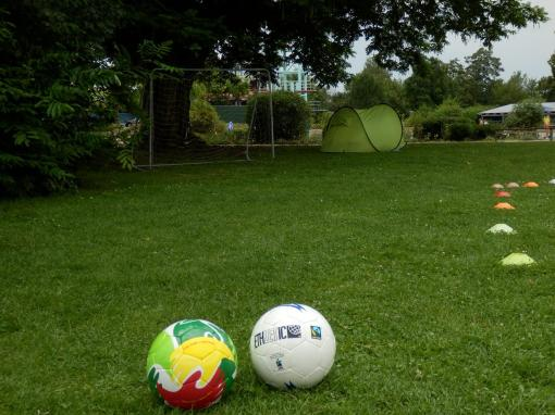 Fußball-Parcour