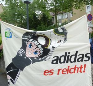 Adidas es reicht!