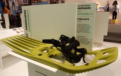 ISPO Munich 2017 Eco Achievement Schneeschuhe Tankr von Fimbulvetr Nachhaltiger Sport