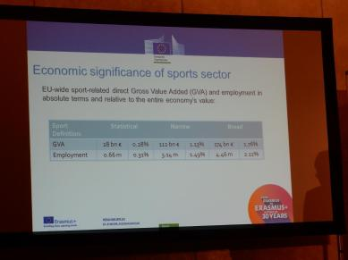 Economic significance of sports sector