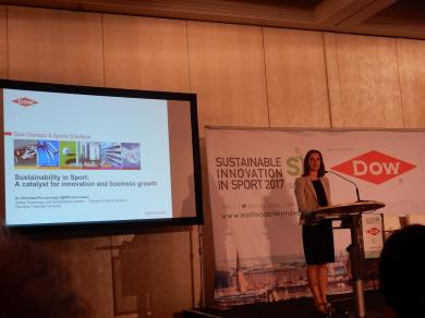 Nicoletta Piccolrovazzi, Global Technology & Sustainability Director, Dow Olympic & Sports Solutions
