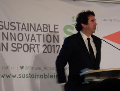 Dr. Allen Hershkowitz Konferenz Sustainable Innovation in Sport 2017 Nachhaltiger Sport