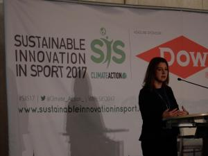 Kelli Jerome Konferenz Sustainable Innovation in Sport 2017 Nachhaltiger Sport