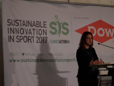 Kelli Jerome Konferenz Sustainable Innovation in Sport 2017 Nachhaltiger Sport