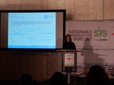 Pamela Ravasio, Head of CSR & Sustainability, European Outdoor Group (EOG)