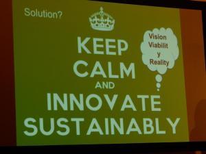 Pamela Ravasio Konferenz Sustainable Innovation in Sport 2017 Nachhaltiger Sport