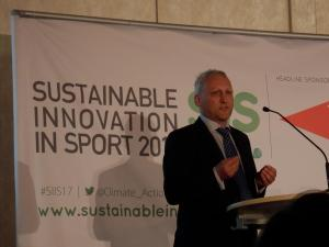 David Stubbs Konferenz Sustainable Innovation in Sport 2017 Nachhaltiger Sport
