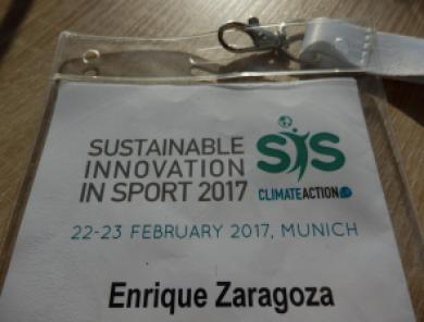 Plastik Konferenz Sustainable Innovation in Sport 2017 Nachhaltiger Sport